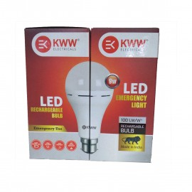 Khaitan Electronics KWW 9 Watt B22 LED White Emergency Inverter Bulb