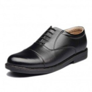Bata Police Black Formal Shoes for Men