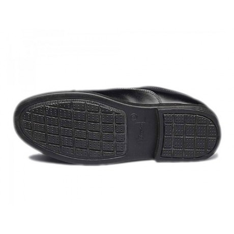 Bata Police Black Formal Shoes for Men