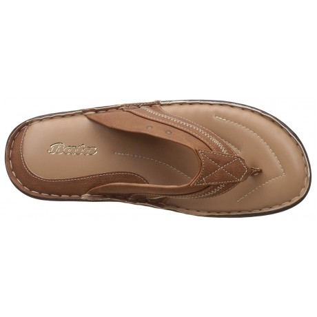 Bata Leather Beige Chappals