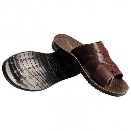 Bata Macho Brown Chappals for Men