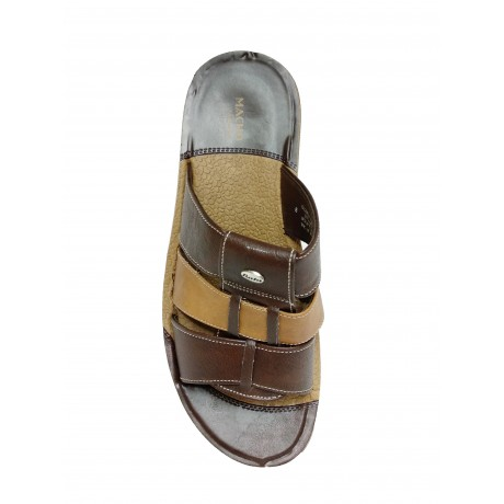 Bata Macho Brown chappals for Men