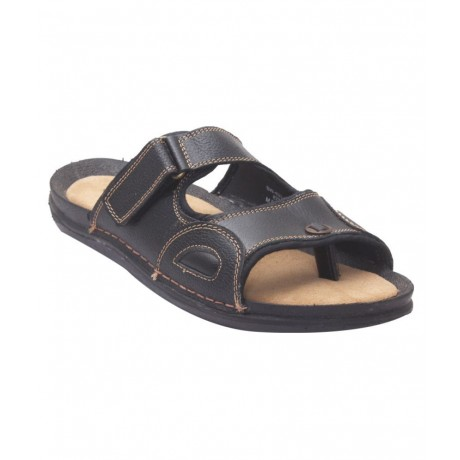 Bata Quadis leather chappals for Men