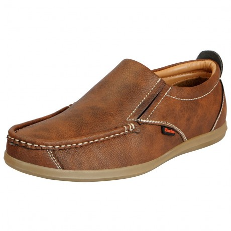 Bata Remo Tan loafers for Men