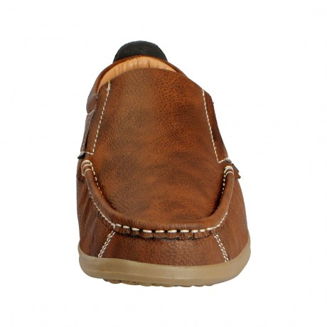 Bata Remo Tan loafers for Men
