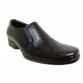Bata Remo Formal Black leather shoe for Men