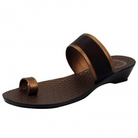 Bata Women Brown Slipper