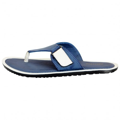 Bata Blue Riplying Thong slippers for Men