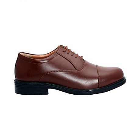 Bata Police Shoe Tan Leather Remo Oxford Formal