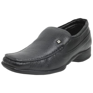 Bata Remo Black Formal Shoes For Men's