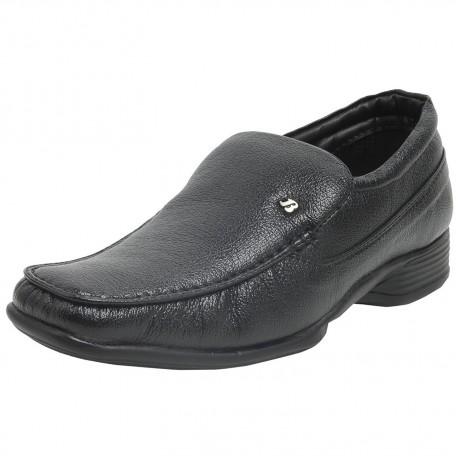Bata Remo Black Formal Shoes For Men's