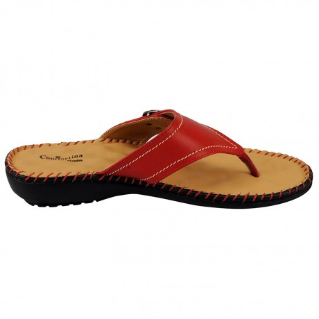 Bata women leather slipper