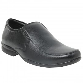 Bata Remo Black Leather Formal shoe for Men