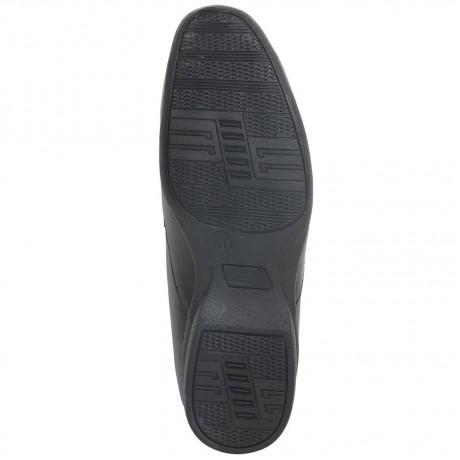 Bata Remo Black Leather Formal shoe for Men