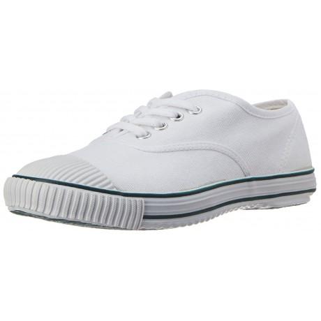 Bata white Tennis canvas shoe