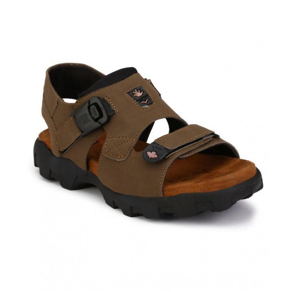 Leather Tan Sandal