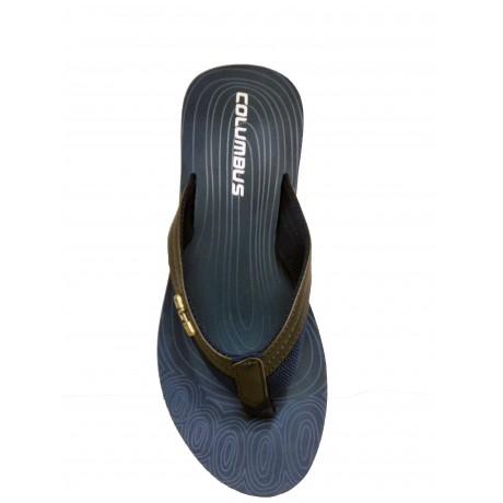 Columbus Blue Sports Slippers for Men