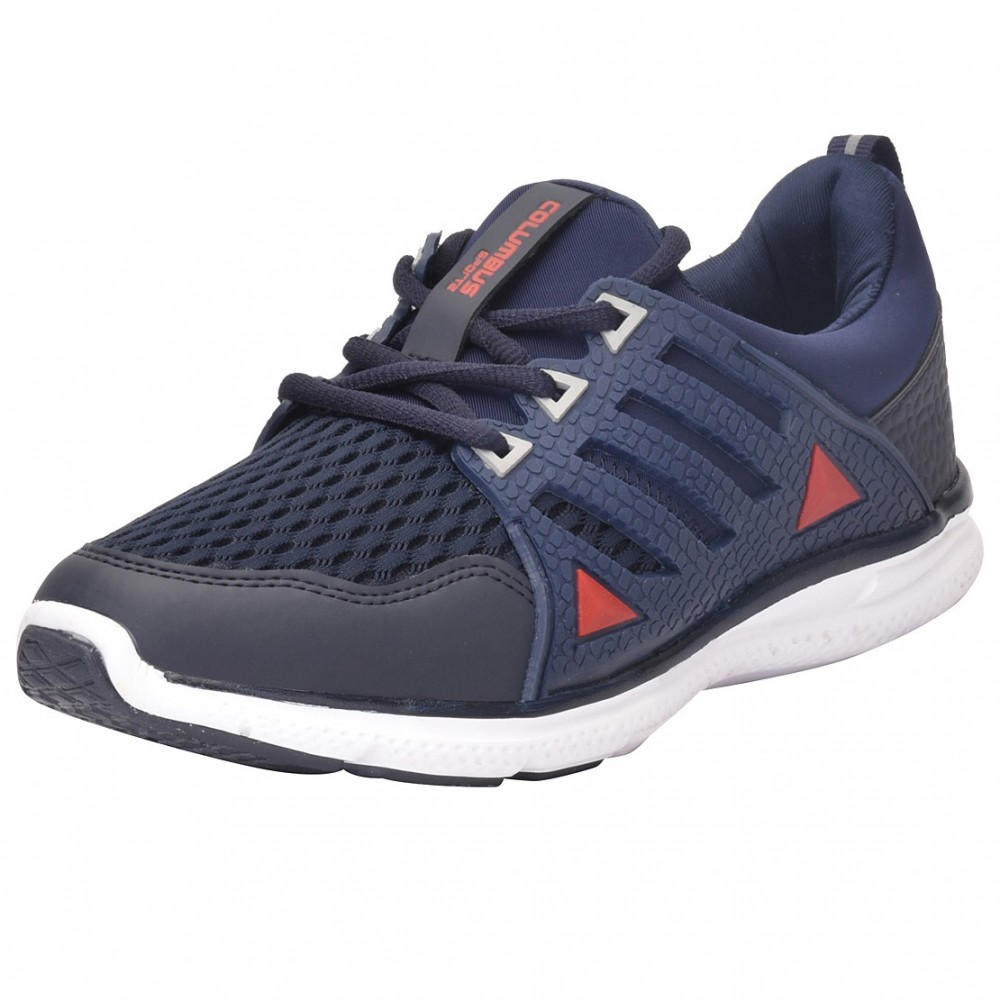 Columbus WARMTECH Navy Red Sports  Shoes for Men