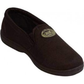 Lakhani shoe for men Brown canvas