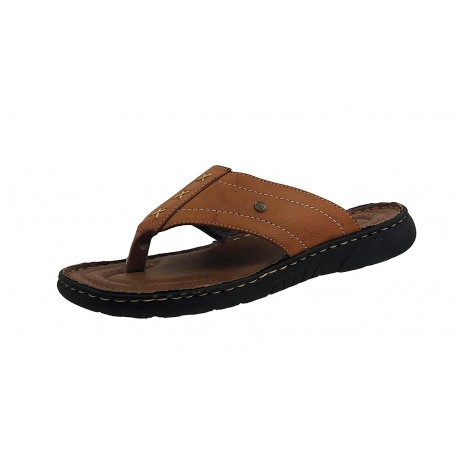Bata Leather Slipper for Men
