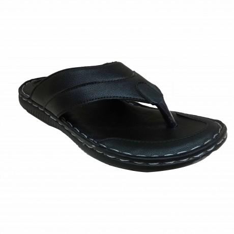 MacMillor Leather slipper for men