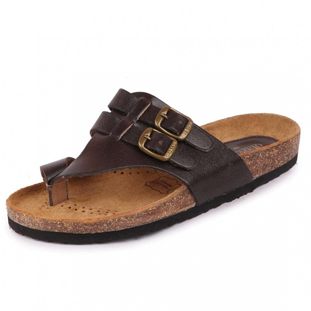 Bata Quadis 4464 Leather Slipper for Men
