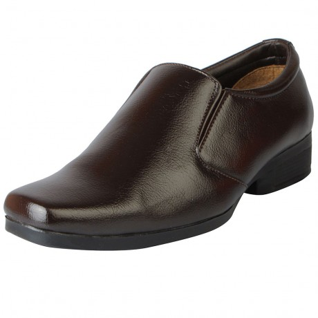 Bata Shoe Brown Leather Formal For Men