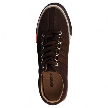 Sparx life style Brown Canvas for Men