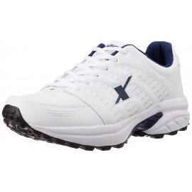 Sparx shoe white Blue For Mens