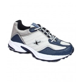 Sparx Navy Blue Mesh Running Shoe for Men