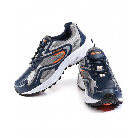 Sparx Blue Ornage Sports Running Shoe