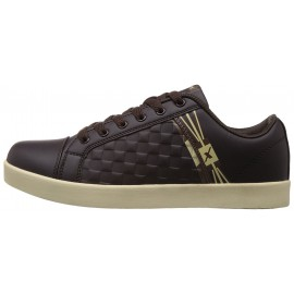 Sparx Brown leather casual shoe
