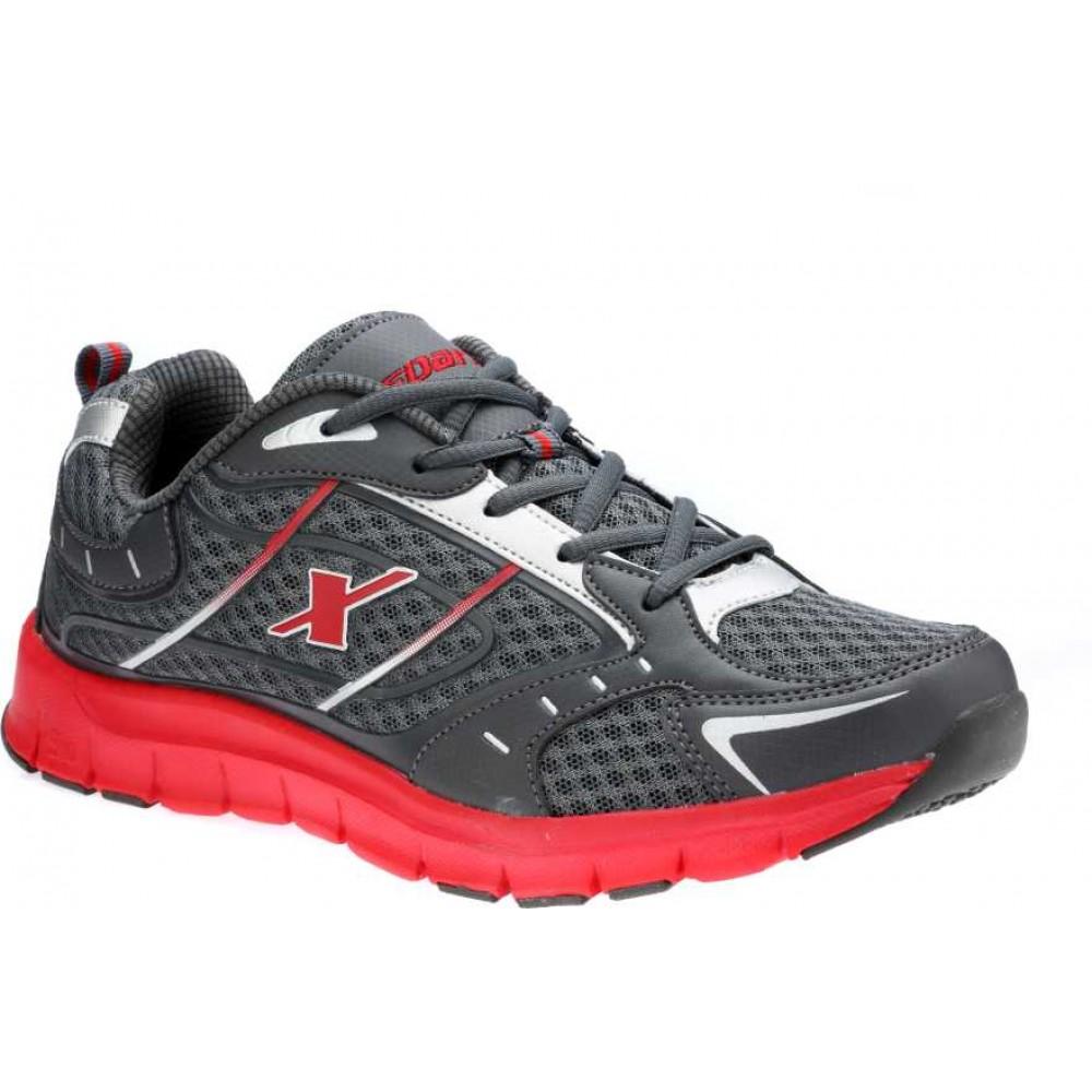 Sparx Grey Red Running outdoor shoe for Men