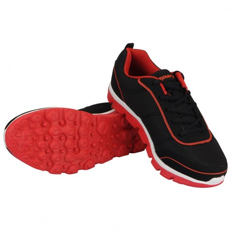 Sparx Black Red Running shoe for Men