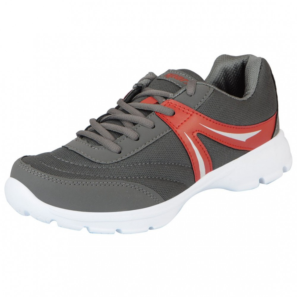 Sparx sports Grey Red sports shoe for Men