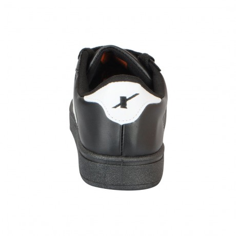 Sparx Black white stylish sneakers for Men