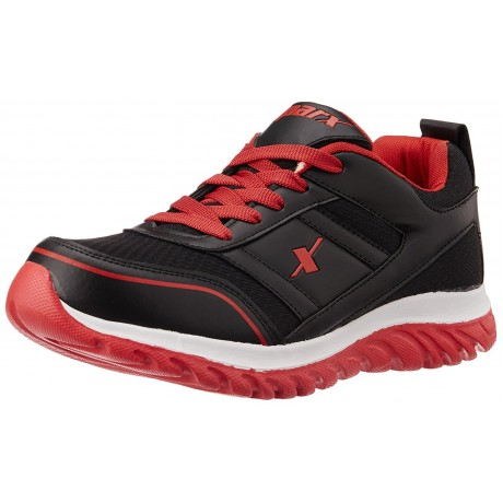 Sparx Black Red Men's Running Shoes