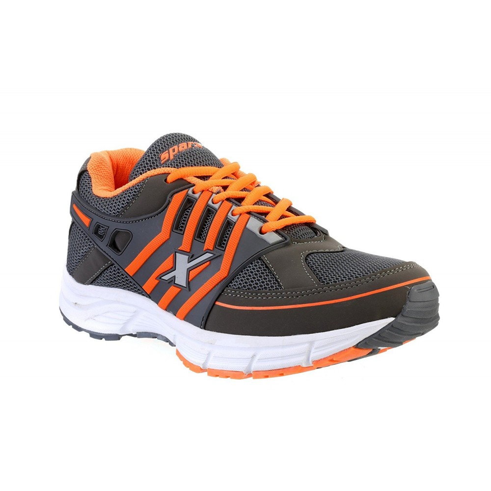 Sparx Stylish Sports Orange Grey