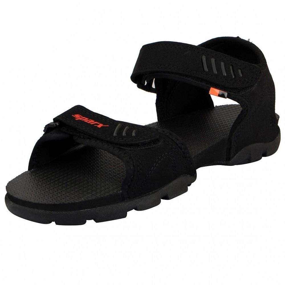 Sparx Black outdoor Sandal