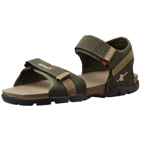 Saprx Olive Green floater sandals