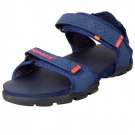 Sparx Navy Red Outdoor Sandals For Men