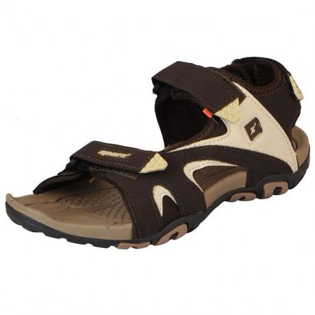 Sparx Brown Beige Floater sandal for Men