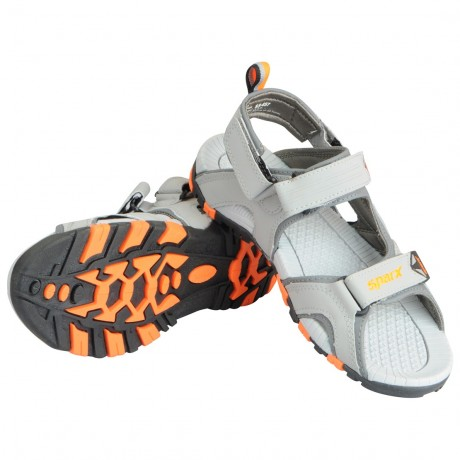 Sparx Grey FLoater Sandal for Men