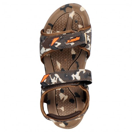 Sparx Mens Stylish Brown Athletic floaters sandals