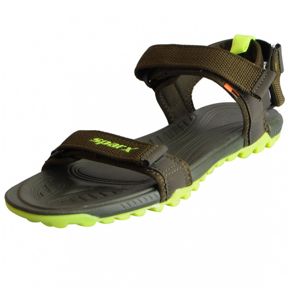 Sparx olive Green floater for Men