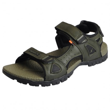 SParx Olive Green Stylish floater for Men