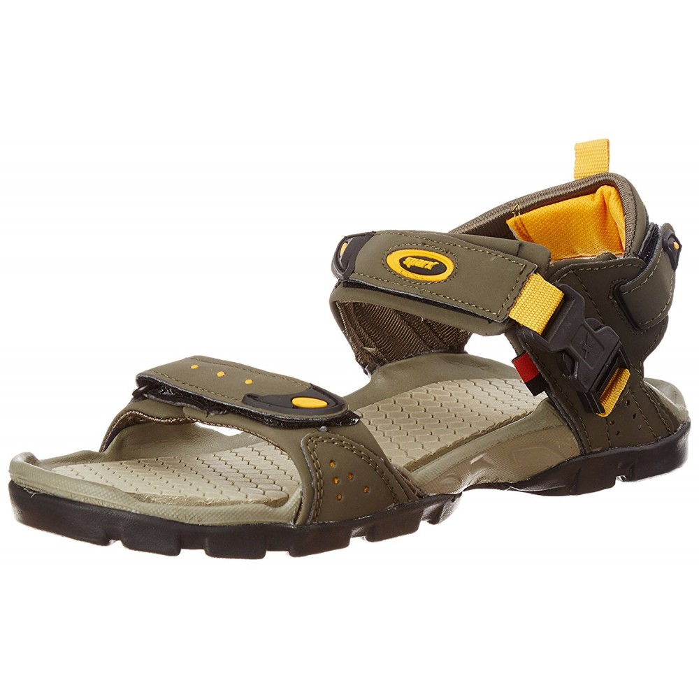 Sparx olive outdoor sandal for Men