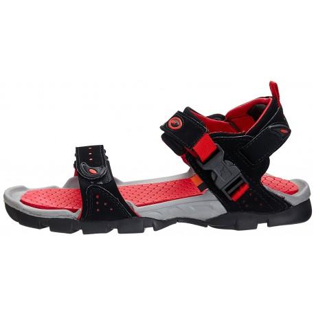 Sparx outdoor sandals for Men Black Red