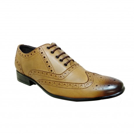 San Frissco Formal Brogues Leather Shoe for Men