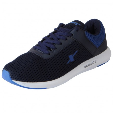 Sparx Navy Blue Mesh Sports Shoe for Men